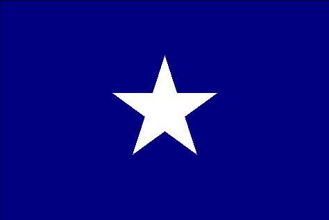 Bonnie Blue Cotton Flag