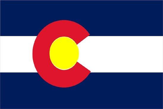 Colorado Nylon Flag