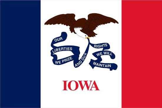 Iowa Nylon Flag