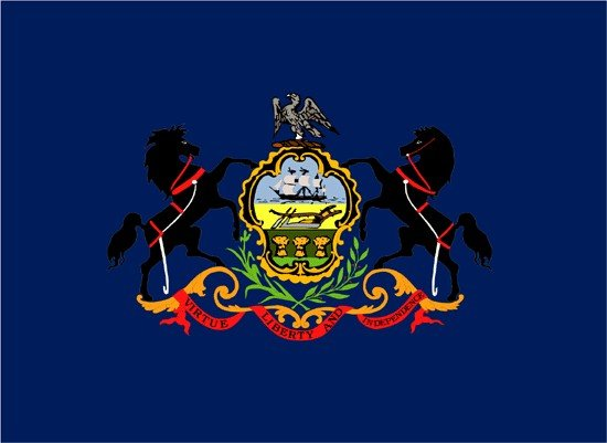 Pennsylvania Nylon Flag