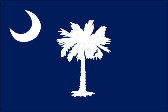 South Carolina 2-Ply Polyester Flag