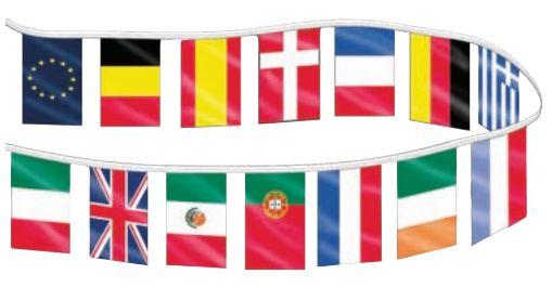 International Flag Streamer