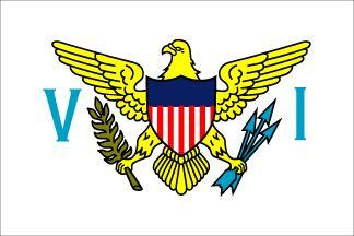 US Virgin Islands Nylon Flag