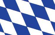 Bavaria, Germany Nylon Flag