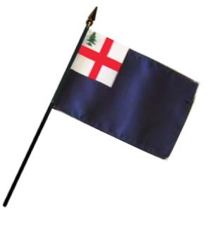 Bunker Hill Rayon Stick Flag