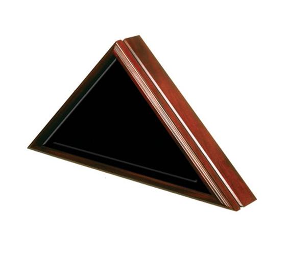 Cherry Wood Flag Case – Premium