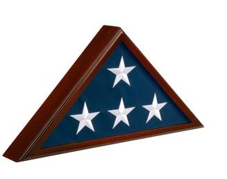 Cherry Wood Flag Case – Regular