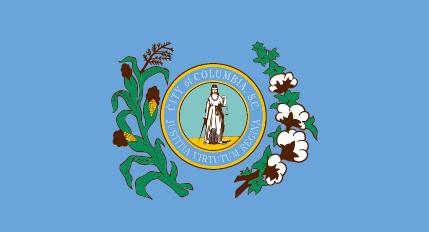 City of Columbia, SC Nylon Flag
