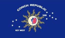Conch Republic – Key West Polyester Flag