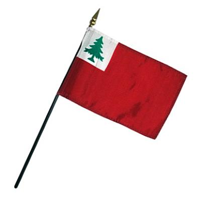 Continental Rayon Stick Flag