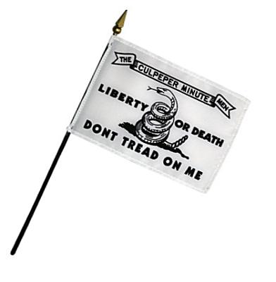 Culpepper Rayon Stick Flag