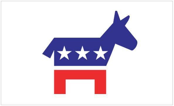 Democrats – Donkey Nylon Flag