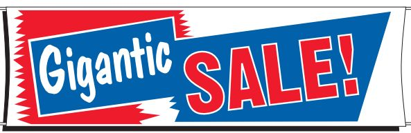 Gigantic Sale Banner