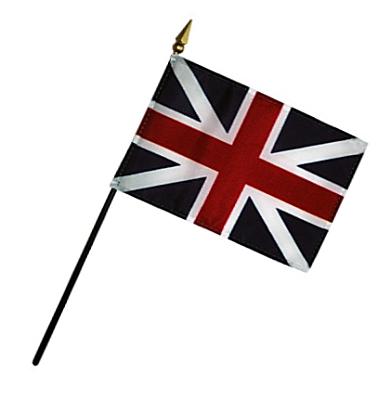 King's Colors Rayon Stick Flag