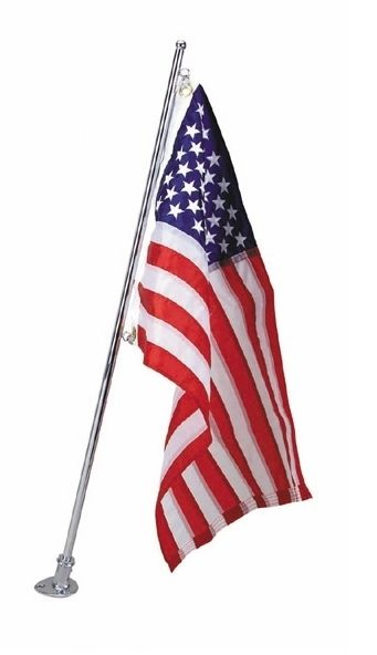 Marine Flagpole for 16×24 in flag