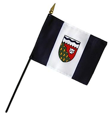 Northwest Territory Rayon Stick Flag