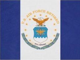Retired US Air Force Nylon Flag