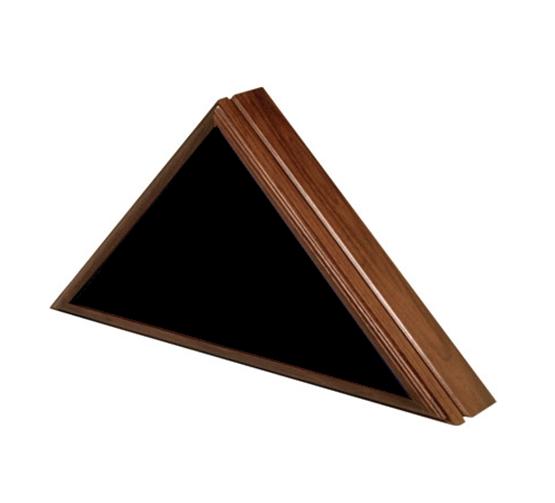 Walnut Wood Flag Case – Premium