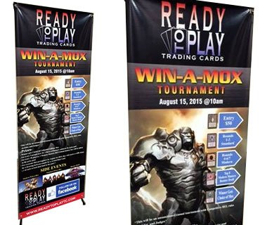 Pop-up Banners & Displays