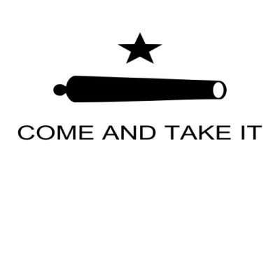 Come and Take It (Star and Cannon) Flag