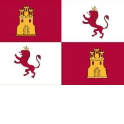 Lions and Castles - Spanish Royalty Flag