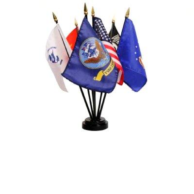 Miniature Military Flag Set