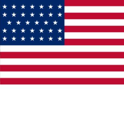 Union Civil War - 34 Star Flag